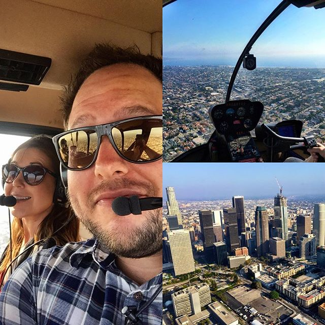 LA, you look pretty damn awesome from 1,200 feet. 🚁 #gettothechoppaaaaaa - from Instagram