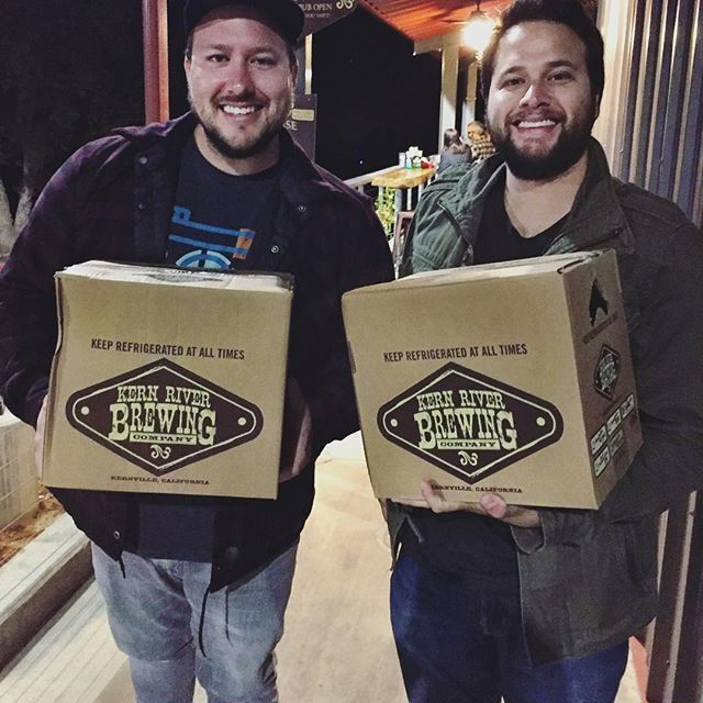 Finally made the pilgrimage to @kernriverbrewing to grab my favorite beer of all time, and this might be the happiest I have ever looked. - from Instagram