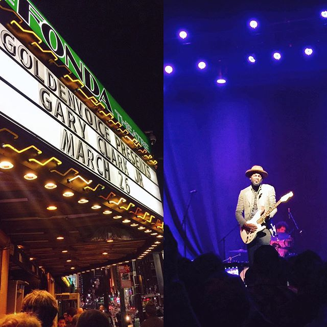 bright lights, big city /// @garyclarkjr - from Instagram